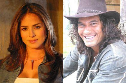 Danna García y Mario Cimarro, en 'Pasión de gavilanes', novela que lideró 'rating' hasta el final y superó a su competencia.