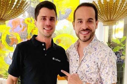 Tomás Uribe y Abelardo de la Espriella