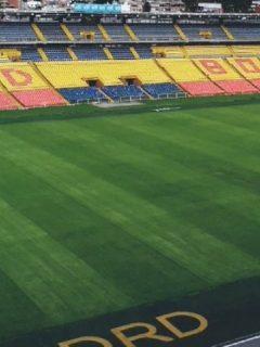 Estadio El Campín de Bogotá, al que no podrán asistir hinchas este año