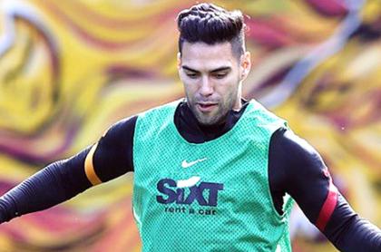 Falcao García supera lesión y vuelve a entrenamientos del Galatasaray