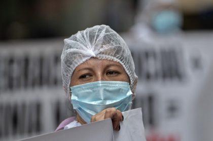 Imagen que ilustra el estado de la lucha contra la COVID-19 en Colombia