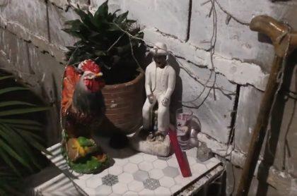 Santería, en Barranquilla.