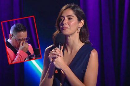 Paulina Vega y Willys del Arka, durante el regreso de 'A otro nivel'.