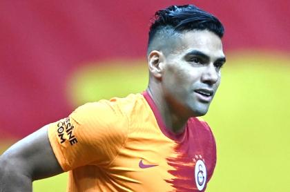 Falcao pide estar en clásico de Turquía entre Galatasaray y Fenerbahce. Imagen de referencia del jugador colombiano.