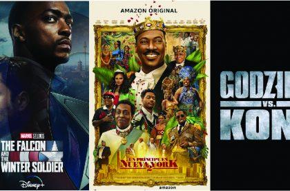 Imagen ilustrativa de las producciones que podrían tener posibles avances en el Super Bowl. Disney+, HBO Max y Amazon