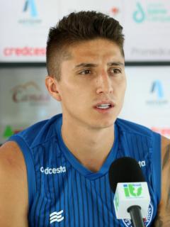 Juan Pablo 'Indio' Ramírez, jugador del Bahía del fútbol brasileño.