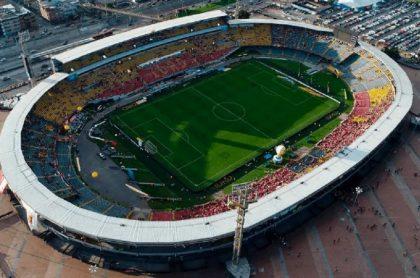 Estadio El Campín de Bogotá, ciudad que según el Gobierno sigue firme como sede para la Copa América