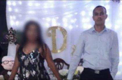 Érick Lucheta, esposo de la mujer, estuvo buscándola desesperadamente por más de una semana y dijo que, desde que ella comenzó a ir al culto, cambió demasiado.