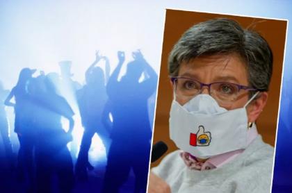 Claudia López, quien aseguró hasta cuándo podrán reabrir las discotecas en Bogotá