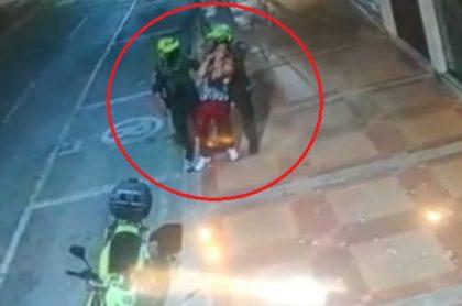 Policías que golpearon a hombre de La Dorada (Caldas)