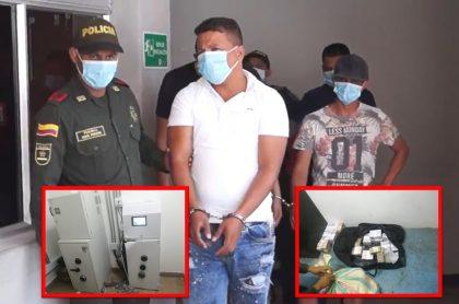 Policía capturó a seis hombres que querían robar un banco en La Guajira.