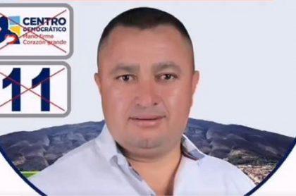 Hamilton Cortés, líder social del departamento de Boyacá, denunció que el concejal del Centro Democrático, Javier Munévar, lo amenazó.