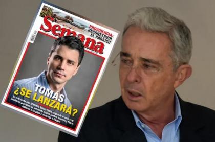 Álvaro Uribe, quien reiteró que su hijo Tomás Uribe no será candidato presidencial en 2022