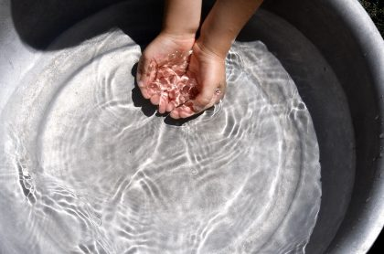 Imagen que ilustra cortes de agua en Bogotá.