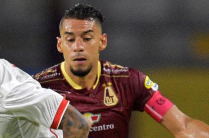 Yeison Gordillo tendría acuerdo para pasar del Tolima a San Lorenzo. Imagen de referencia del jugador.