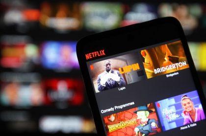 La plataforma de Netflix con algunos títulos de producciones. Imagen ilustrativa de lo más buscado en Netflix.
