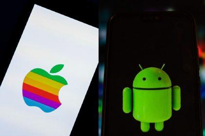 Imagen ilustrativa sobre la comparación del sistema operativo de Apple y Android