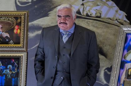 Vicente Fernández, cantante mexicano, acusado de acoso sexual.