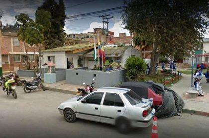 CAI de San Mateo, Soacha, donde hubo incendio que mató a jóvenes, por el que llamaron a juicio a 3 policías