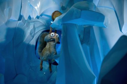 Scrat, personaje de 'la era de hielo'. Imagen ilustrativa a causa de cerrar el estudio 'Blue Sky'