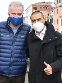 Iván Ramiro Córdoba, nuevo director deportivo del Venezia de Italia