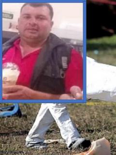 Personal de criminalística /Anibal Arias Moreno, hombre asesinado por su esposa