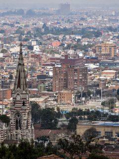 Foto de Bogotá ilustra nota sobre cortes de agua hoy, 11 de febrero: ¿qué barrios se quedarán sin agua?