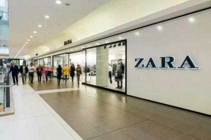 Tienda Zara en Titán Plaza (esa no cerrará).
