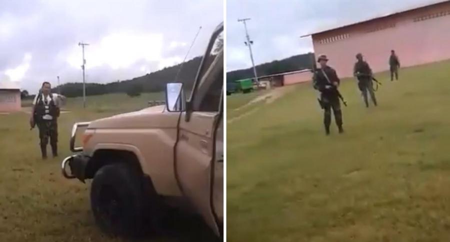 Disidencias de las Farc se encontraron con guardias en Venezuela