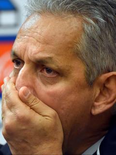 Martín Lasarte, nuevo director técnico de Chile. Imagen de referencia de Reinaldo Rueda, el entrenador anterior