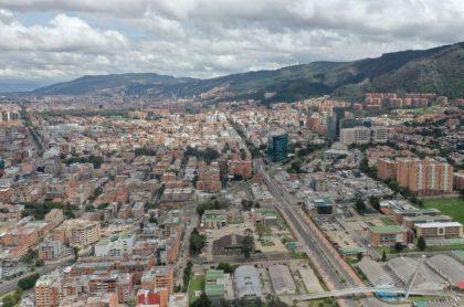 Foto de Bogotá ilustra nota sobre los cortes de agua en Bogotá hoy: ¿qué barrios se quedarán sin agua?
