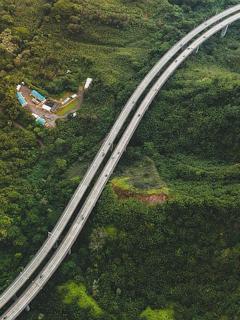 Carretera entre Bucaramanga y Barrancabermeja.