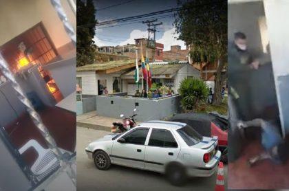 Detalles sobre los jóvenes quemados en el CAI de Soacha