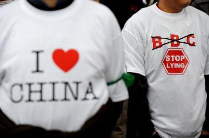 BBC en China.
