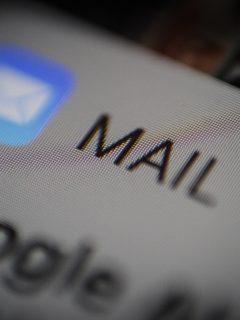 Notificación de correo. Imagen ilustrativa para indicar la creación de un correo electrónico