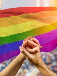 Imagen de comunidad LGBT, a propósito de polémica en Italia por decir que son vulnerables a COVID-19