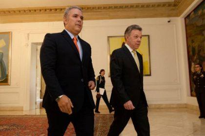 Juan Manuel Santos confiesa que no tiene buena relación con Iván Duque