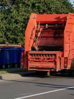 Carro de la basura, ilustra nota de recolectores de basura salvan a niña de 10 años de pedófilo
