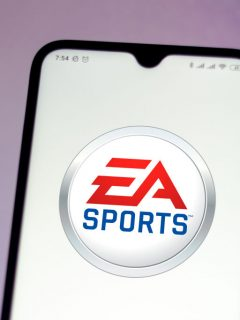 Foto del logo de EA Sports ilustra nota sobre Future Stars de FUT FIFA 21