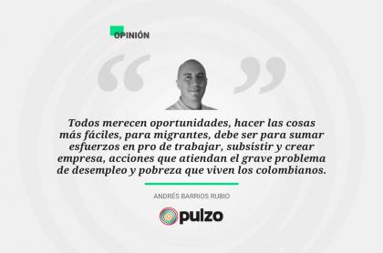 Frase destacada sobre la regularización de venezolanos en Colombia
