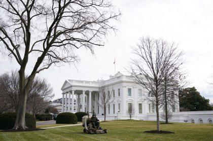 Día de San Valentín: así quedó la Casa Blanca para su conmemoración