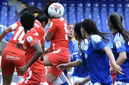 Sí hay recursos para una Liga Femenina mejor, según Vanessa Córdoba. Imagen de referencia del campeonato colombiano.