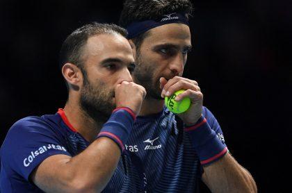 Juan Sebastián Cabal y Robert Farah, quienes fueron eliminados en segunda ronda del Australian Open