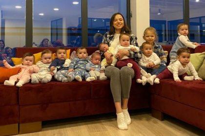 Christina Ozturk, de 23 años, afirmó que en la actualidad está criando a sus primeros 11 hijos, pero que quiere tener al menos 100.