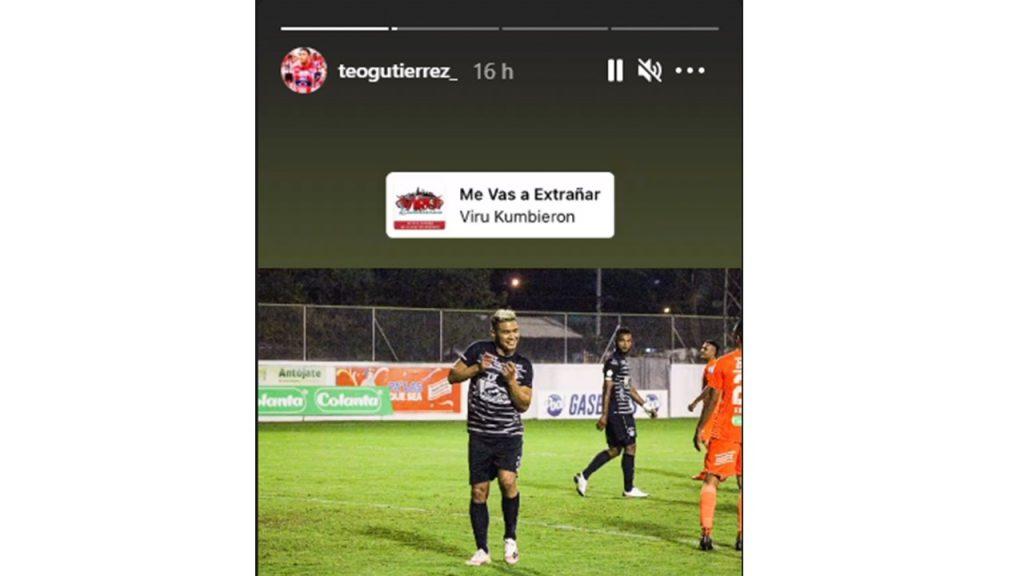 Tomada de Instagram @teogutierrez_