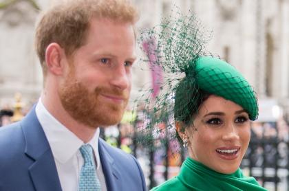 Príncipe Harry y su esposa, Megan Markle, que ya está embarazada