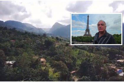 Eduardo Parra, el músico colombiano que dejó París para vivir en Fusagasugá.