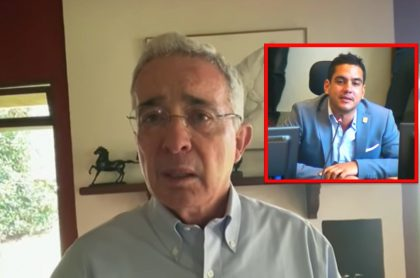 """Concejal de Medellín critica al Centro Democrático y señala al expresidente Uribe de """"criminal""""."""