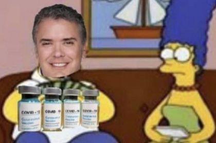Memes tras la llegada de las vacunas a Colombia