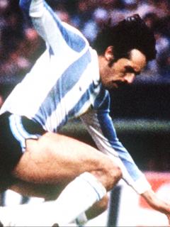 Leopoldo Luque murió de Covid-19: campeón con Argentina, Mundial de 1978. Imagen del jugador en la Copa del Mundo.